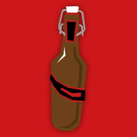 Pirator Flasche